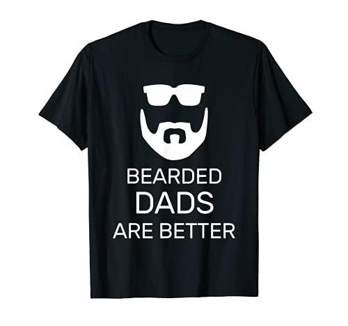 Uomo Divertenti padri della festa del papà con orsetti sono una migliore idea regalo Maglietta