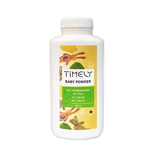 Timely, borotalco per irritazioni e sudore, 100 g
