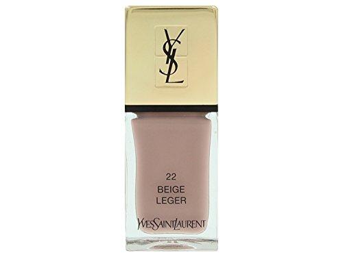 Yves Saint Laurent la Laque Couture Smalto Unghie, 22 Beige Leger, 10 ml
