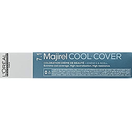Majirel Cool Cover Tinta Biondo Cenere nm 7,1 - 50ml