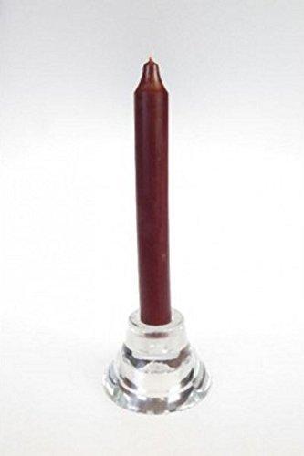 Originale danese Asta candela 18cm Rustik colori anticato colorata cioccolato
