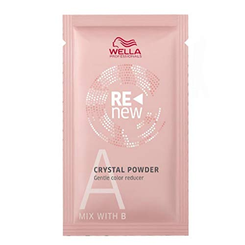 Wella, decolorante per capelli Professionals Color Renew Crystal Powder (etichetta in lingua italiana non garantita), (5 x 9 g)
