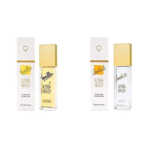 ALYSSA ASHLEY Vanilla acqua profumata 100 Ml & Cocovanilla acqua profumata 100 Ml