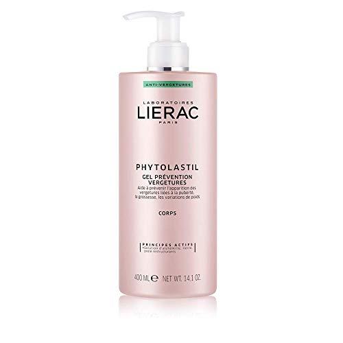 Lierac Phytolastil Gel per la Prevenzione delle Smagliature, Per Tutti i Tipi di Pelle, Formato da 400 ml
