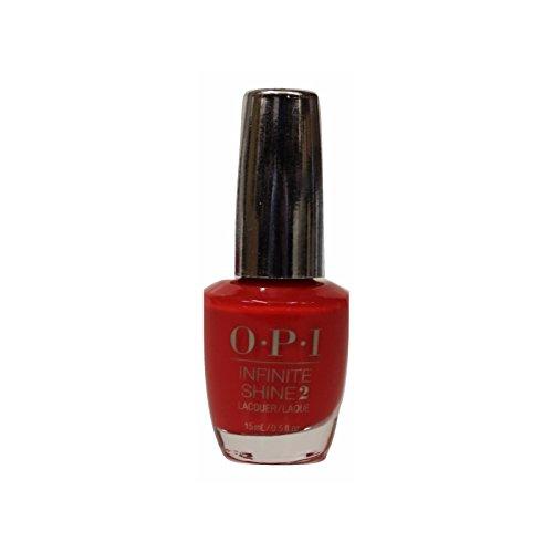 OPI Nail Lacquer Infinite Shine IS L08 Unrepentantly Red 15ml - Smalto per Unghie Effetto Gel