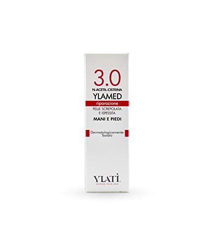 Ylatì Ylamed 3.0 - Crema Mani e Piedi Riparatrice e Anti-Callosità con Urea e Vitamina E - 50 ml
