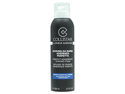 Collistar Uomo Schiuma da Barba Aderenza Perfetta Pelli Sensibili - 200 ml