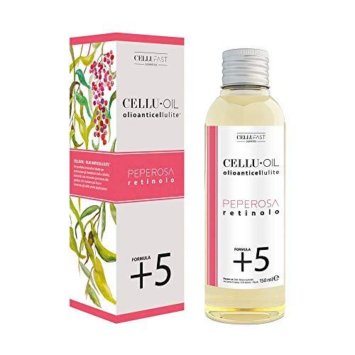 Slimcup: Cellu-Oil Olio Lubrificante Anticellulite Antismagliature con Retinolo Per Massaggi Per Coppettazione Slimcup (Cellu-Oil 150ml)