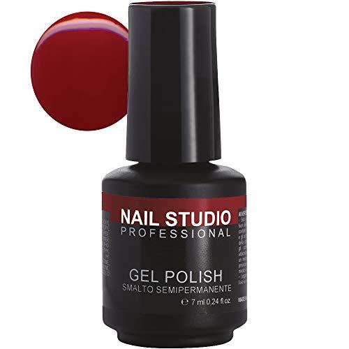 Nail Studio Professional - Gel Polish N.27 - Smalto Semipermanente Unghie - Smalto Gel per Unghie Effetto Diamante - Colore Intenso e Brillante, Distribuito Uniformemente - 7 ml