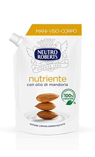 Neutro Roberts Sapone Liquido Ecopouch Nutriente -400 ml