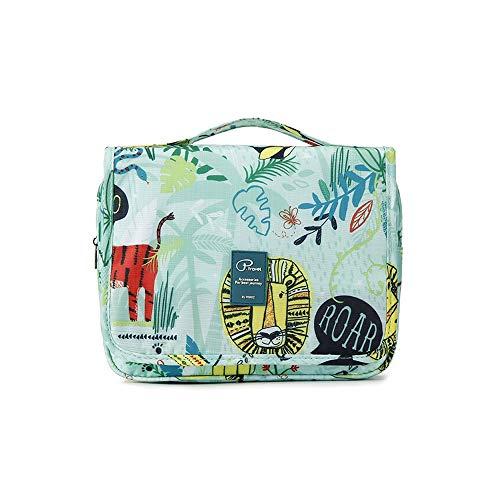 Beauty Case da Viaggio - Slopow Borsa da Toilette Ripiegabile Tuscall Trucco Cosmetico Portatile Organizzatore Accesori da Viaggio Bag Organizer Make Up da Donne (Verde)
