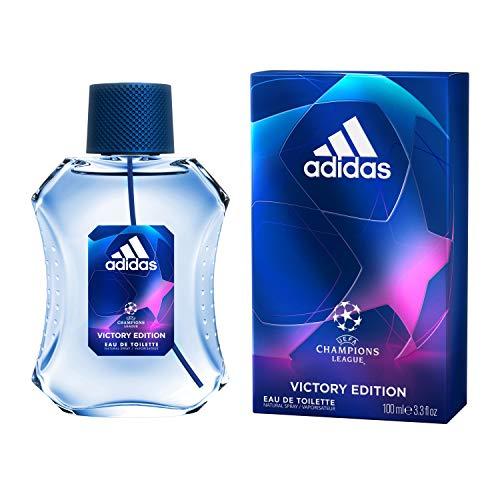 Adidas Eau de Toilette UEFA Champions League Victory Edition, Profumo da Uomo, 100 ml