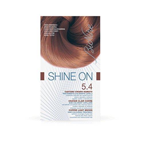 Bionike Shine On Tarttamento Colorante Capelli (Colore 5.4 Castano Chiaro Ramato)
