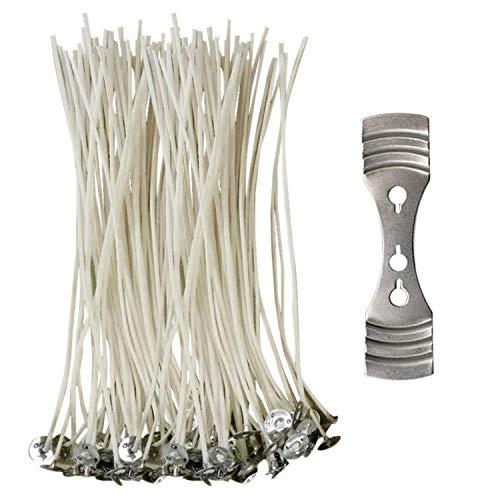 CZ Store®-Stoppino candela-✮✮GARANZIA A VITA✮✮- Stoppino Per candela 15CM|100 Q| Stoppino candela naturale in cotone 100% ecologico-✮PDF OFFERTO✮ -stoppino candela bio per candela a colonna/lampioni