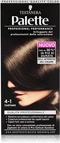 Testanera - Palette Trattamento Colorante 4-1 Castano