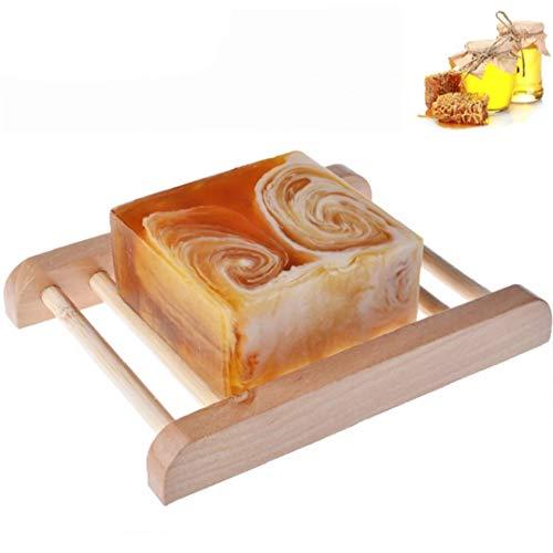 Handmade latte Bar con Ingredienti Miele All Natural Organic Honey Unscented Olio Essenziale Bar idratante per uso quotidiano rifornimento Jewelry