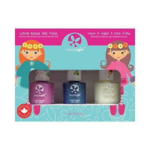 Suncoat Girl | Mermaid Princess Kit di 3 smalti ad acqua per bambini
