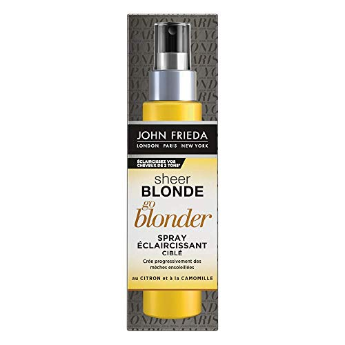 John Frieda Sheer Blonde Spray schiarente mirato, 100 ml