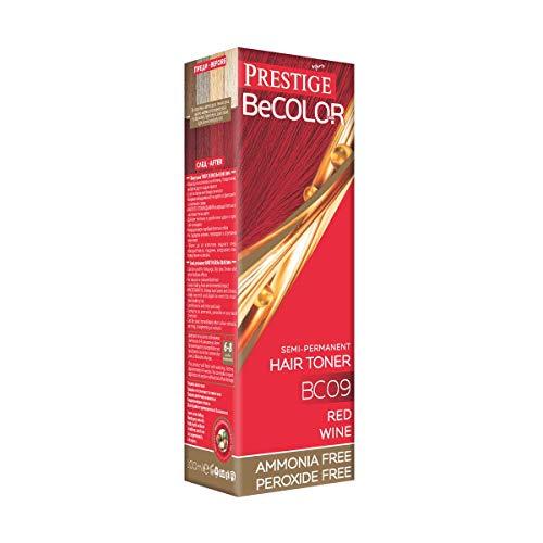 BE COLOR - Tinta semipermanente per bagno di colore senza ammoniaca 100ml rosso