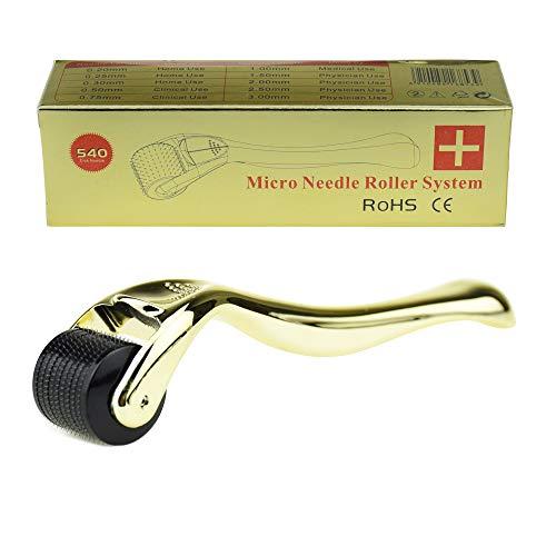 TBPHP Micro Needle Roller 2.0mm 540-aghi Derma rullo di alta qualità,il Trattamento di Rughe,Acne Cicatrici e Smagliature