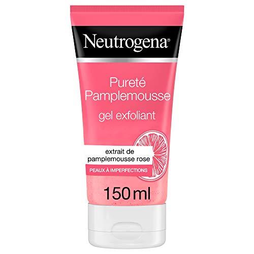 Neutrogena V Clear (versione francese), gel detergente esfoliante al pompelmo rosa, tubo da 150ml