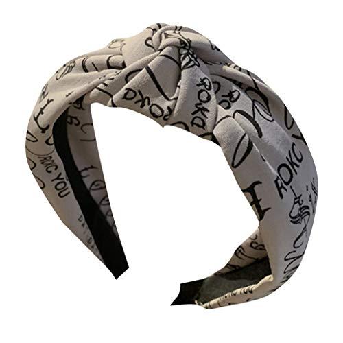 Dicomi Cerchietti per Capelli Donna Bandane Headband Ghirlande Fasce del Fiori con Nastro Elastico Regolabile copricapo Accessori Capelli donna