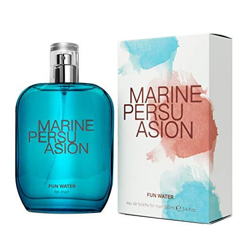 Fun Water, Marine Persuasion Fragrance for Men, profumo da uomo, 100 ml