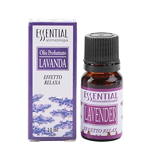 Oli essenziali, olio per aromaterapia Diffusore di olio profumato biologico puro Massaggio rilassante Cura personale per la cura della pelle e dei capelli Stress Ansia,10M(06)