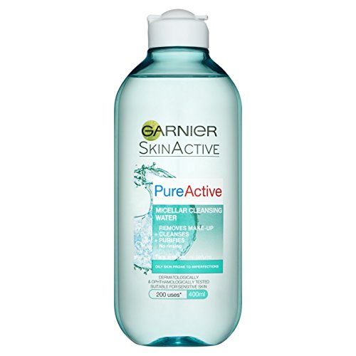 Acqua micellare 'pure active' per pelle grassa 400 ml