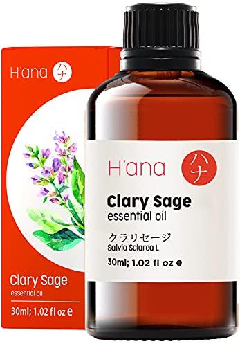 Olio essenziale di salvia sclarea - Chill & Strut That Mane (30ml) - Olio di salvia sclarea di grado terapeutico puro al 100%