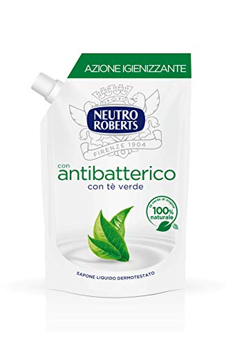 NEUTRO ROBERTS Sapone Liquido Antibatterico Ecoricarica - 400 ml