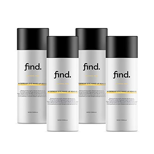 FIND - Struccante waterproof per occhi ( 4x150 ml )