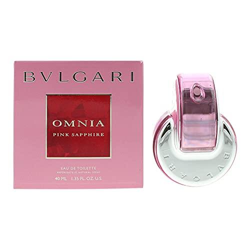 Bvlgari Omnia Pink Sapphire Eau De Toilette Donna, color Multicolore, 40 ml