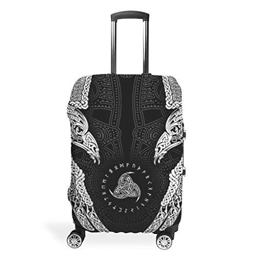 The Twin Ravens in mitologia, Viking, Huginn e Muninn, Odin Case Protectors accessori da viaggio Bianco s (49 x 70 cm)