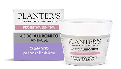 Planter' s acido ialuronico crema viso antietà protettiva 50ml