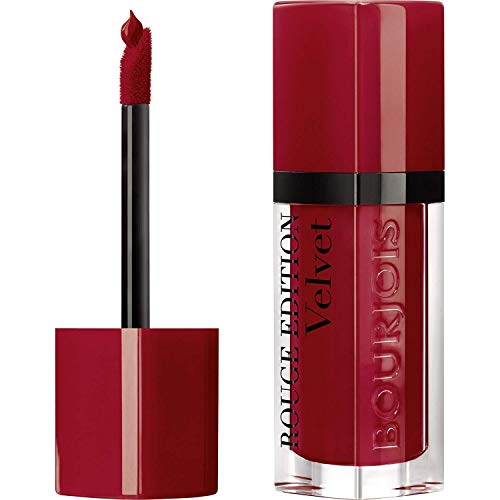 Bourjois - Rouge Edition Velvet - Rossetto Opaco Liquido Modulabile a Lunga Tenuta - 01 Personne Ne Rouge! - 2.4 g