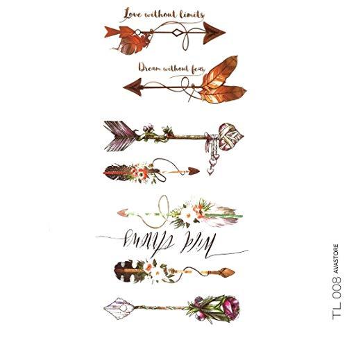 Tatuaggio Temporaneo Frecce avastore
