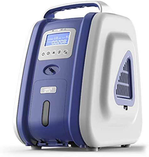 Generatore di ossigeno portatile si concentratore di ossigeno purificatore d'aria domestica 90% Umidificazione dell'ossigeno purezza 2-9L/min Flusso AC 220V Compressore di ossigeno