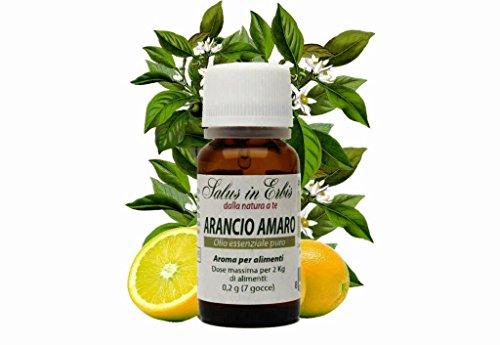 ARANCIO AMARO OLIO ESSENZIALE PURO 10 ml. Nervosismo,ansia,afte,cellulite