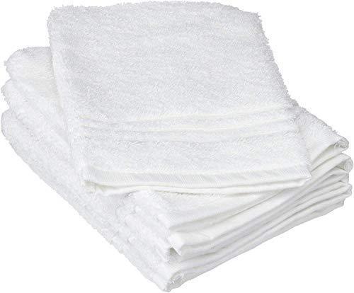 De Witte Lietaer 195.308 Luxury Hotel Set di 6 igienici Guanti di Cotone Bianco 15 x 22 cm