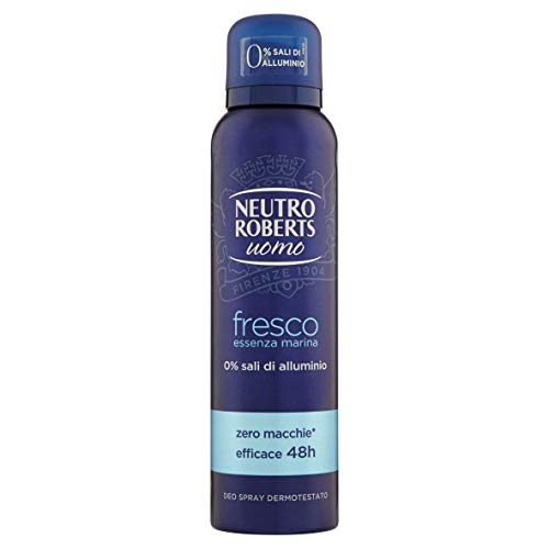 NEUTRO ROBERTS Deodorante Uomo Fresco Essenza Marina, 150ml