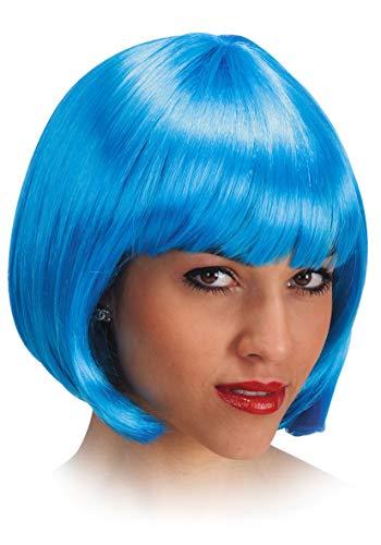 Carnival 02505 - Parrucca Pin Up azzurra in Busta