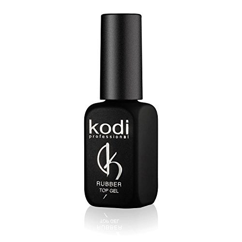 Kody, set di smalti semipermanenti professionali Rubber, top coat da 12 ml, un kit di smalti a lunga durata, facili da usare, non tossici e inodore; si asciugano con la lampada UV o LED