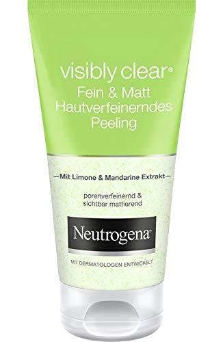 Neutrogena Visibilmente Cancella Pore Scrub & Shine opacizzante Gel 150 ml