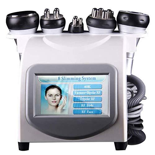 Dbtxwd Massaggiatore 5 in 1, Macchina per Modellare Viso E Corpo, Fat Remove Skin Lifting Slimming Machine Massaggiatore Modellante Massaggio Viso Antietà