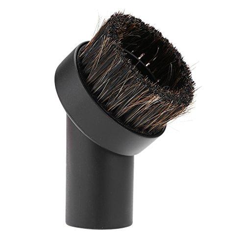 1Pcs Spazzola per aspirapolvere Attacco Spazzola per polvere di crine di cavallo Spazzola rotonda per aspirapolvere 32mm Testa della spazzola Accessorio per la testa della spazzola per la polvere