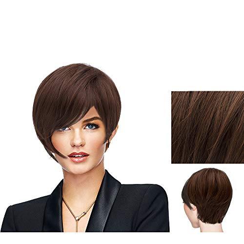 Hairdo Parrucca Angled Cut Castano Chiaro Dorato