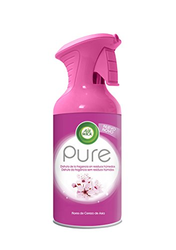 Air Wick Aerosol Pure Deodorante per ambienti ai fiori di ciliegio asiatici