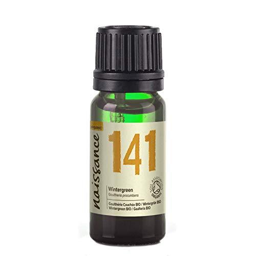 Naissance Olio di Wintergreen Biologico - Olio Essenziale Puro al 100% - 10ml