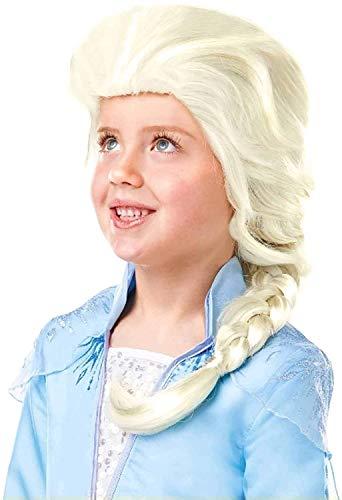 Frozen 2 Parrucca Elsa, Multicolore, Rubie'S 300471